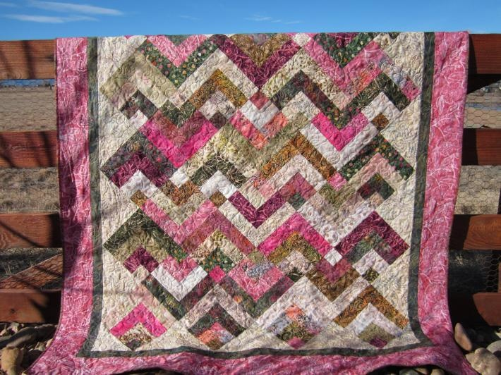 91 best Quilts- batik images on Pinterest | Quilt block patterns ... : batik patchwork quilt - Adamdwight.com