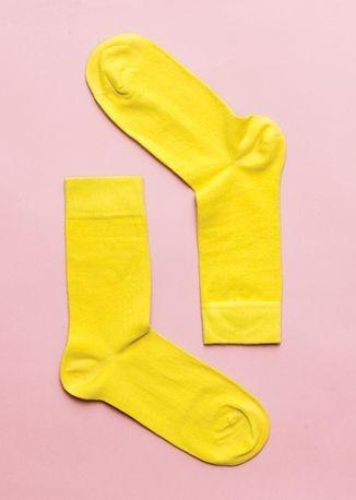 dainty socks. Yellow