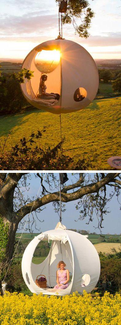 Moon hanging tent.