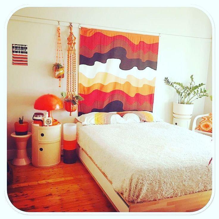 Retro Funky 70s Vintage Bedroom Mit Bildern Vintage