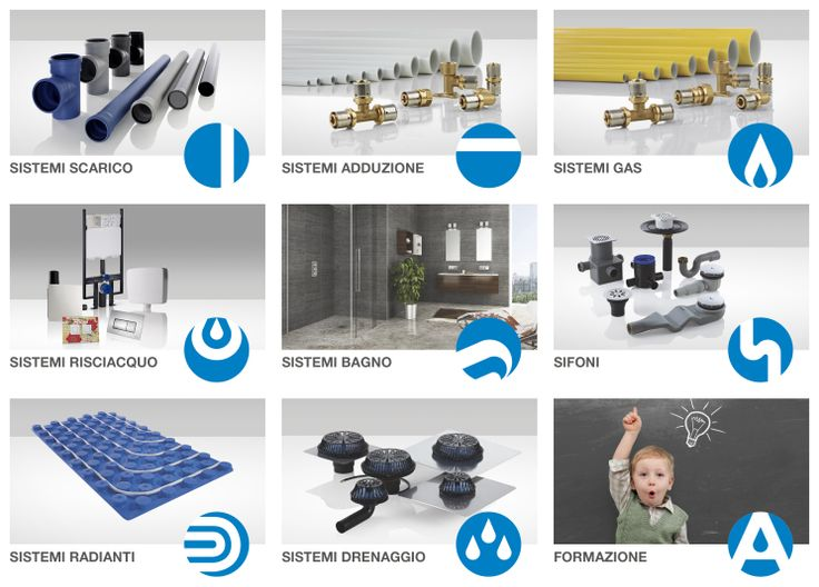 Valsir Spa is an Italian producer of  in-wall and exposed flush cisterns, design flush plates, odour control systems, pipes and fittings for waste and water systems, drainage systems, floor level shower systems, underfloor heating and cooling systems.
