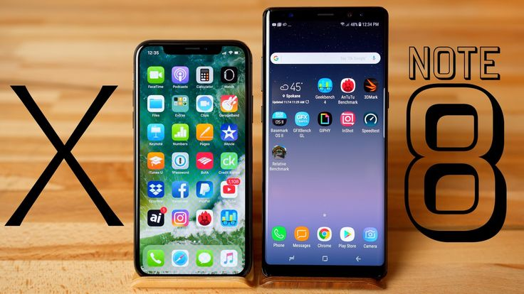 Apple iPhone X beats Samsung Galaxy Note 8 in benchmark comparison http://appleinsider.com/articles/17/11/14/video-apple-iphone-x-versus-samsung-galaxy-note-8-benchmark-comparison