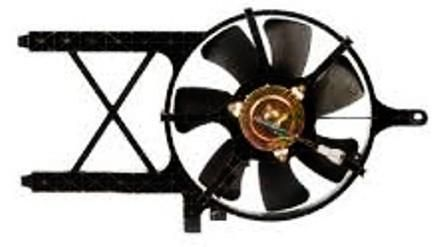 2005-2007 Nissan Pathfinder Condenser Fan Assembly
