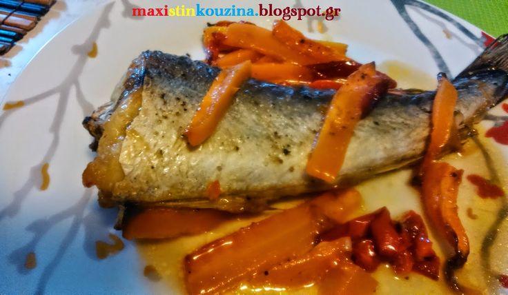 Μάχη στην κουζίνα: Ψάρι Στο Φούρνο Σαν Ψητό, Με Λαχανικά