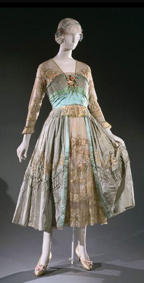 Dinner Dress Lucile, 1916 The PhiladelphiaMuseumof Art