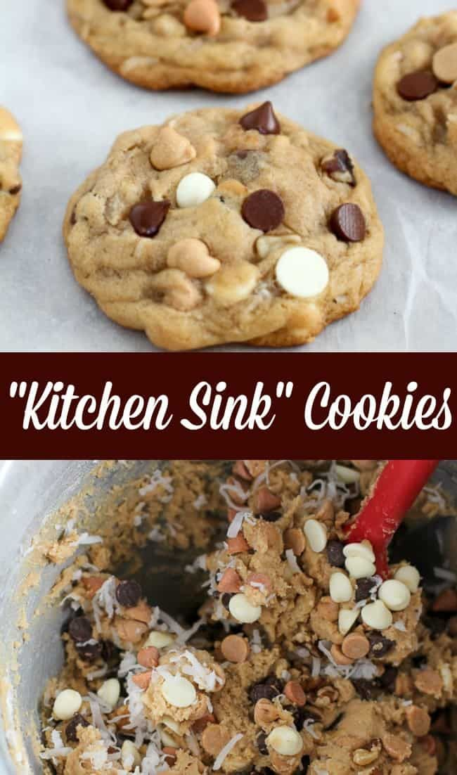 Thick Soft Cookies Loaded With Everything But The Kitchen