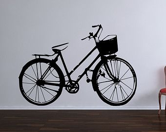 Best Wall Decals Images On Pinterest Vinyl Wall Art Wall - Custom vinyl decals for bicycles