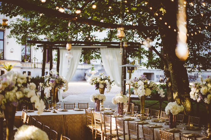 Chateau elegance with a twist of rustic souther Charm for a Spring rehearsal dinner at Chateau Challain