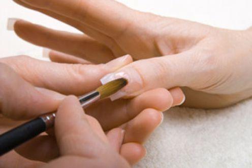 Get that perfect French manicure without stepping foot into a nail salon, and for just a fraction of the cost! Learn how to apply acrylic nails at home with this easy to follow guide!