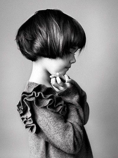 cute haircut: Ruffle, Shorts Hair, Hair Bobs, Hair Cut, Toddlers Girls, Little Girls Haircuts, Shorts Bobs, Bobs Cut, Kids