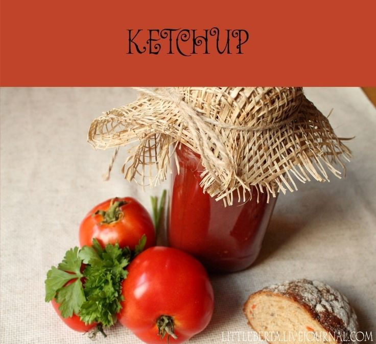 Ketchup | by Little Berta #ketchup #tomato #sauce #recipe
