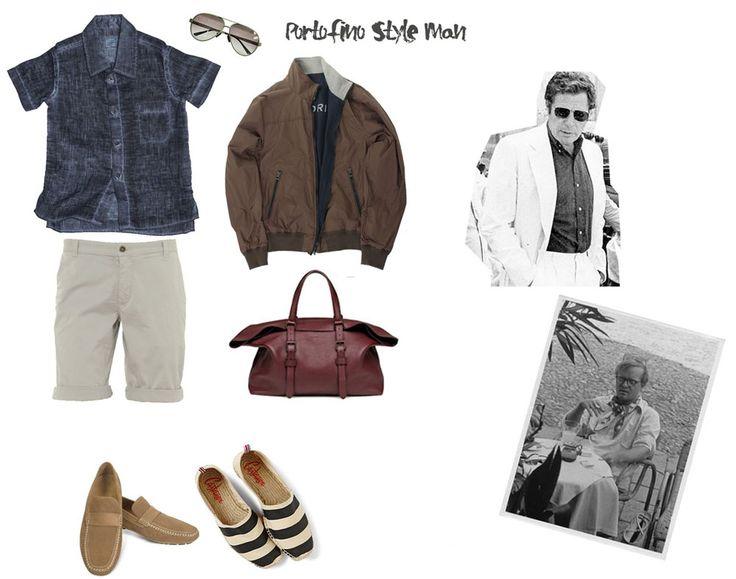 L'uomo a Portofino ricorda i divi degli anni '50 e '60. Via libera così a mocassini o espadrillas, abbinati a bermuda, a pantaloni sportivi e a morbide camicie, come capospalla Steve jacket di Historic, un paio di occhiali Aviator e una comoda borsa in pelle,  e la mise sarà assolutamente perfetta!!! #historic #portofinostyle #portofino #manfashion #fashion http://historic-brand.com/shop/3-historic/steve-jacket/