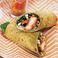 Wrap up your lunch today with buffalo chicken for a quick midday kick! #lunch #wraps #lowcalorie