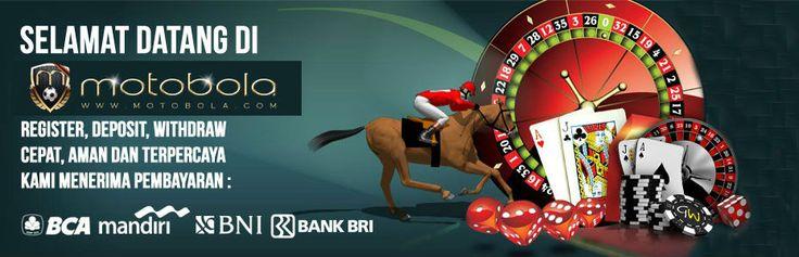Agen Bola - Motobola adalah Agen Bola Online Terpercaya dengan minimal deposit 50rb yang menyediakan permainan sportsbook, casino online, bola tangkas, togel online dan poker online