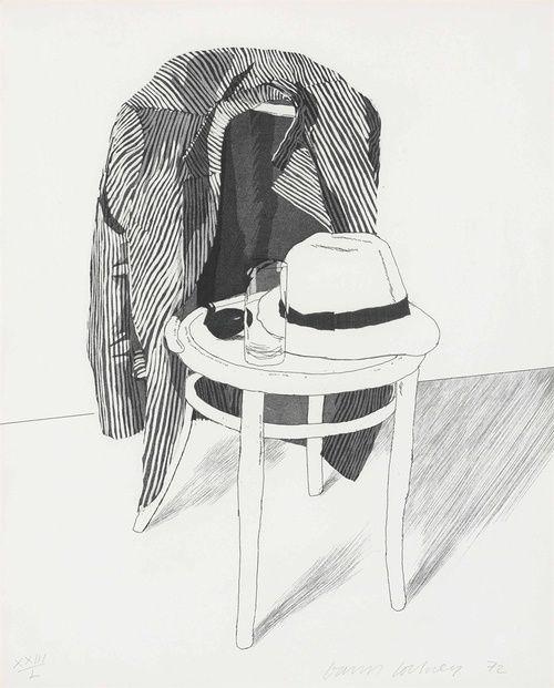 david hockney still life | David Hockney - Drawings