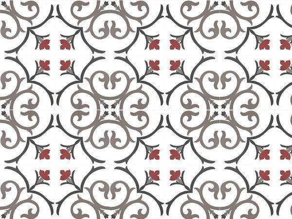Kerion ceramics modulo 20 d cor d cor branche framboise for Carrelage kerion