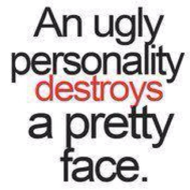 I know some really ugly people who could have been pretty....no lets not lie the butt chin ruins it.