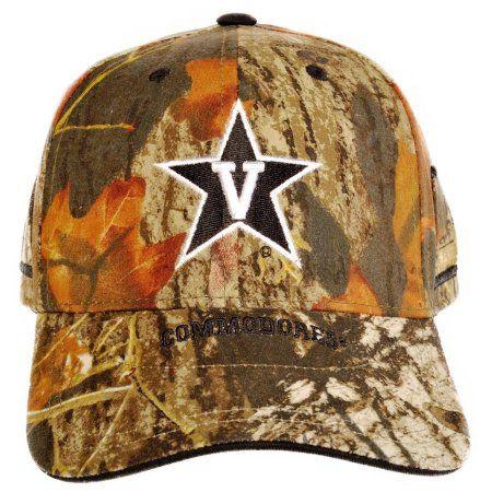 Vanderbilt Commodores Evocap, Mossy Oak Camo, Green