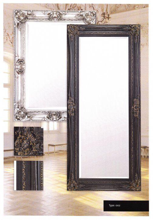 Barokspiegel Donatello De spiegel Donatello is extravagant, groot en sterk en een pronkstuk in uw interieur. Facet geslepen Spiegel in ornamentslijst Lijst breedte 13 cm Leverbaar in 6 maten Leverbaar in 4 kleuren: Zilver, Antiekgoud, Zwart en Wit
