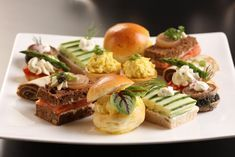 Afternoon Tea Sandwiches from epicurus.com