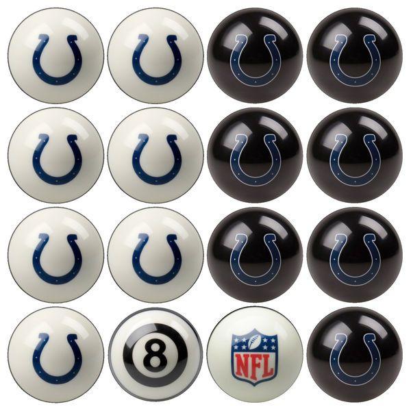 Indianapolis Colts NFL Billiard Ball Set   $268.99