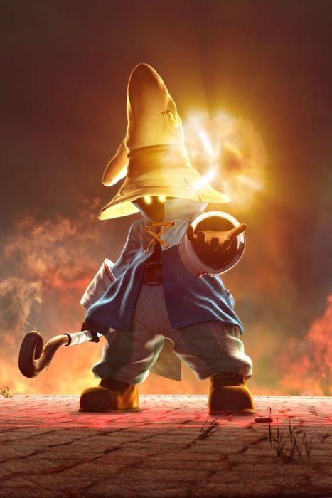 Final Fantasy, Japan - When I played IX, I named my Vivi character Bob-omb