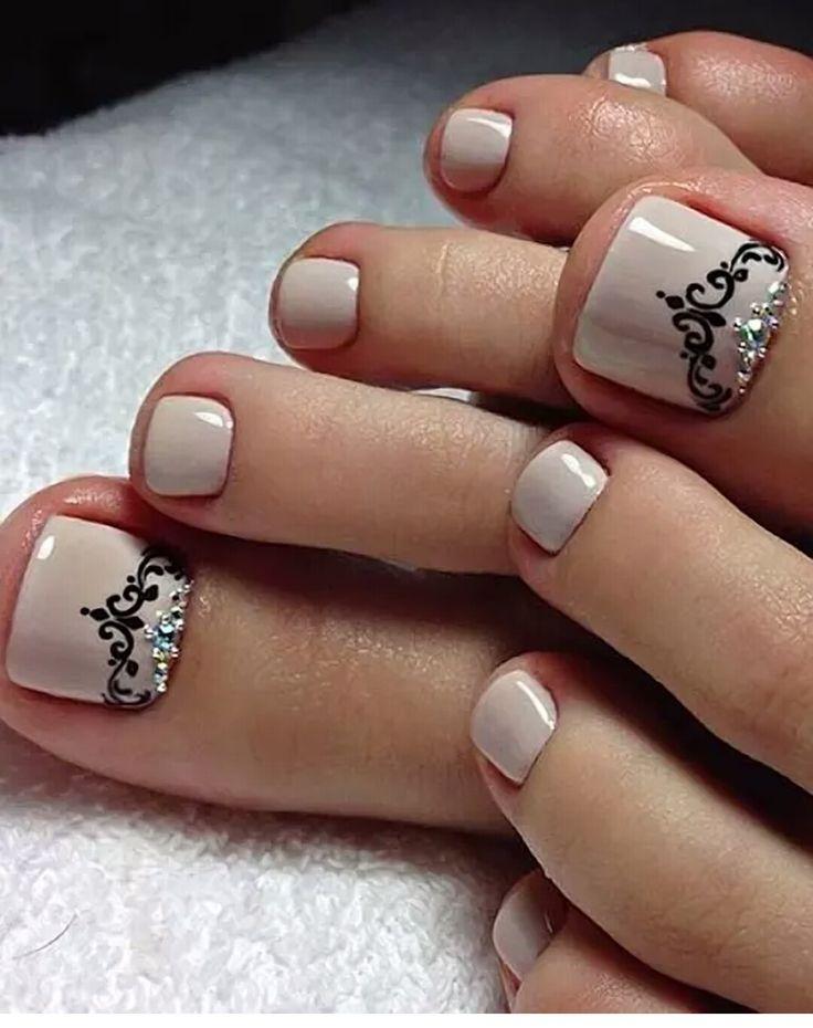 Arte uñas de los pies