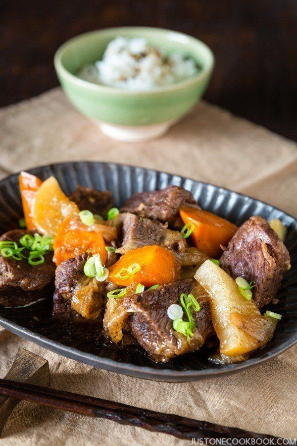 Pressure Cooker Short Ribs   Easy Japanese Recipes by JustOneCookbook.com