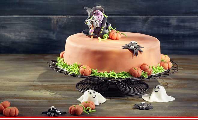Halloween-Torte (mit Kürbis oder Rüebli) ~ Betty Bossi