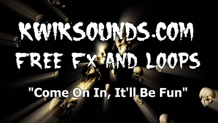 Come On In It'll Be Fun Free Halloween Sound Effect #Halloween sounds #zombie voice #free Halloween sound effects #free sound effects
