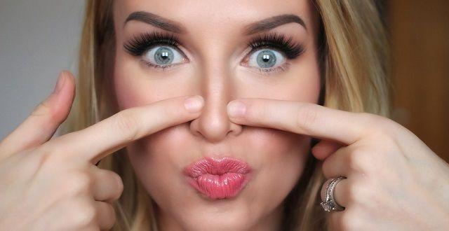 Comment rétrécir le nez naturellement