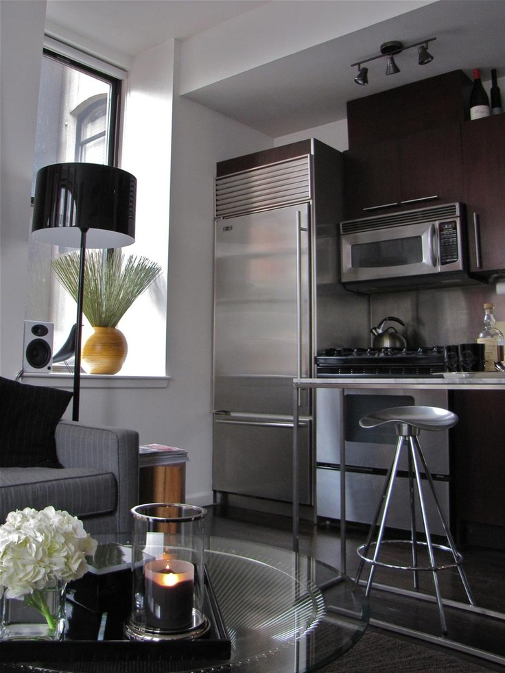 Paul's Sleek Studio | Small Cool 2011 | Apartment Therapy ...