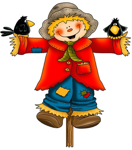 220 best fall clip art images on pinterest fall clip art for Animated scarecrow decoration