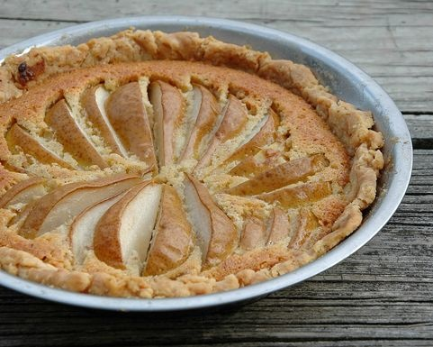 This pear frangipane pie looks yummy | food, glorious food | Pinterest ...