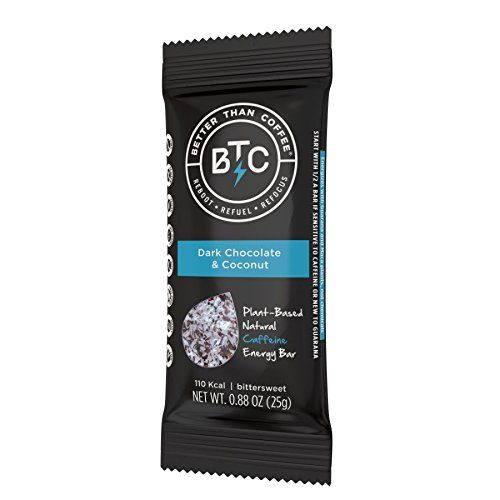 better than coffee energy bars 100mg caffeine dark