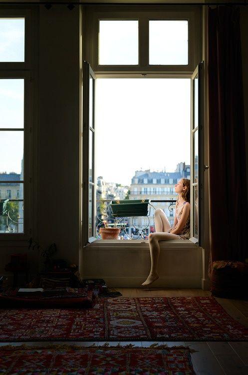 París desde la ventana. REGÁLAME PARÍS de Olivia Hardey