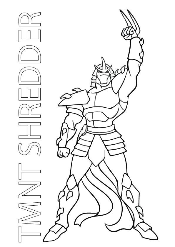 Tmnt Shredder Turtle Coloring Pages Coloring Pages Ninja Turtle Coloring Pages