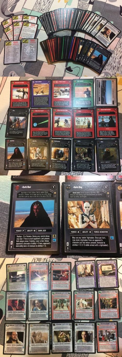CCG Individual Cards 183454: Star Wars Ccg Tatooine Complete Set Nm-M Pack Fresh -> BUY IT NOW ONLY: $69.95 on eBay!