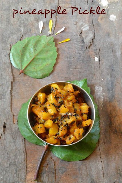 pineapple pickle http://www.upala.net/2015/11/pineapple-picklepineapple.html