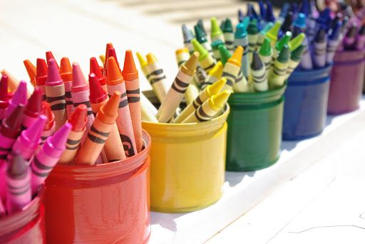 Upcycled Montessori-Style Crayon Holder {Tutorial} - Happiness is Homemade