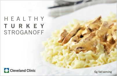 Turkey Stroganoff: A family favorite with a #healthy twist. # ...