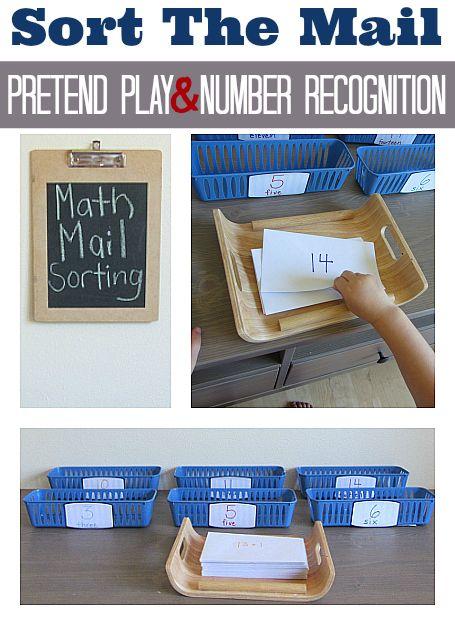 Turn math into pretend play! Fun math idea for all levels.
