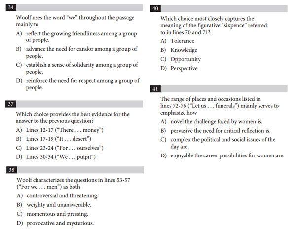 sat critical reading practice pdf