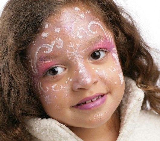 maquillage princesse des glaces étape 3