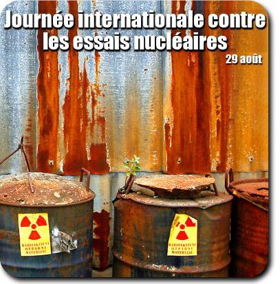 29 août #nucleaire : C'est aujourd'hui la Journée internationale contre les essais nucléaires. Partagez cette photo pour promouvoir la création d'un monde exempt d'armes nucléaires. http://www.un.org/fr/events/againstnucleartestsday/index.shtml