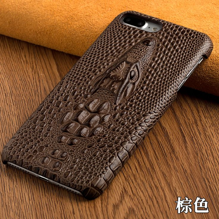 For Sony Xperia C3 D2533 D2502 S55T S55U Top Luxury Genuine Leather 3D Crocodile Head Texture Rear Cover Moblie Phone Back Case