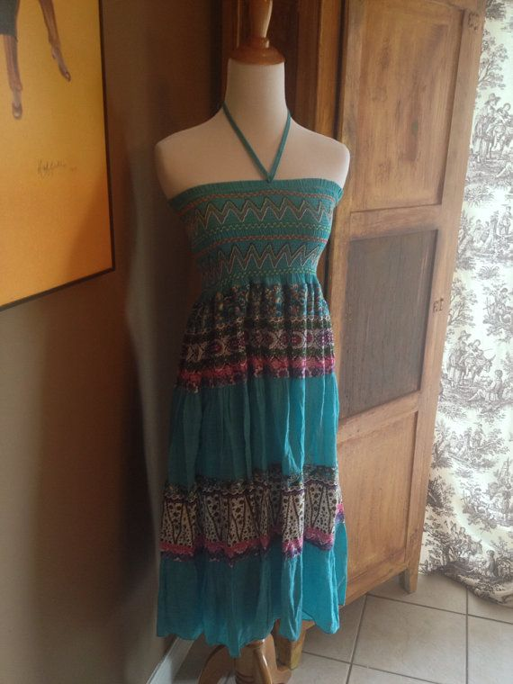 Blue Margarita Woman's Stretchy Comfy Vacation Cruise Beach Sundress  on Etsy, $30.00