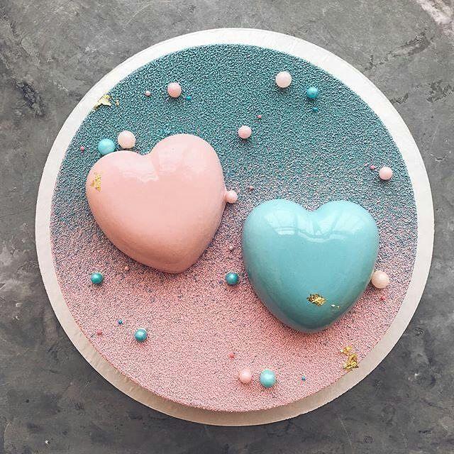 pastryinspirationschool.com . #Repost @grechastya: Торт на первый день рождения двойняшек ☺️ Доброе утро!)