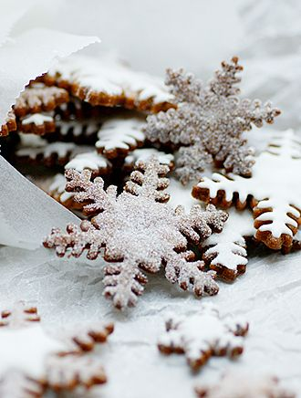 Snowflake Cookies | Christmas Food | Christmas Gifts