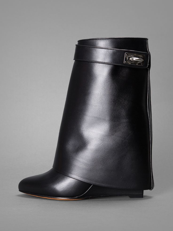 #GIVENCHY shark lock fold over pant #boots now available ...